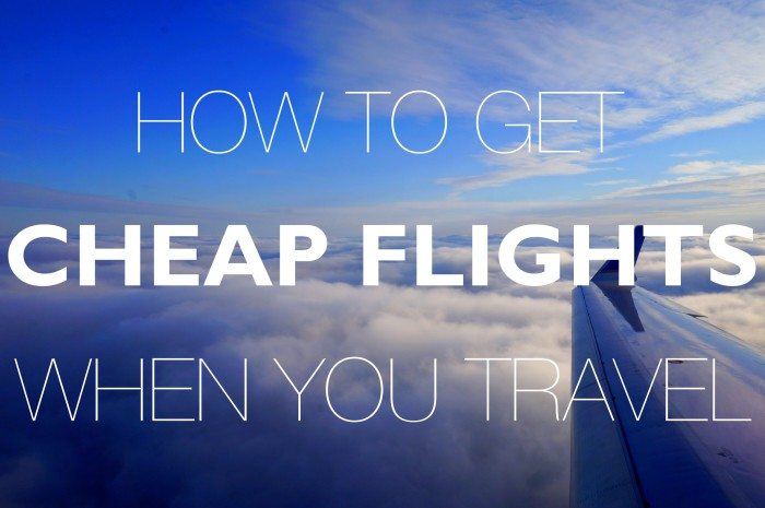 12 tips on how to get cheap flight prices